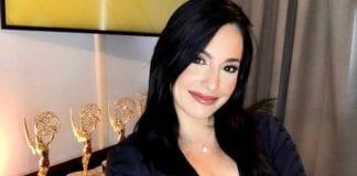 Alejandra Oraa presentadora Premios Emmy en Español