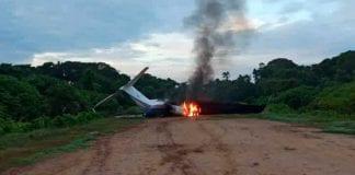 aeronave procedente de colombia con droga - aeronave procedente de colombia con droga