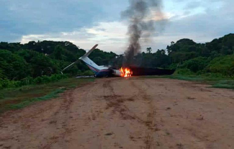 Inutilizan aeronave de EEUU procedente de Colombia con droga en el Zulia