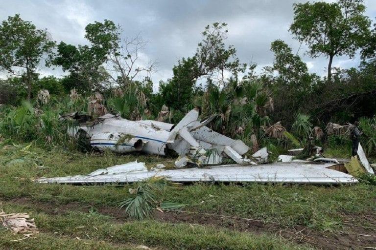 Cayó avioneta con supuesto alijo en Guatemala