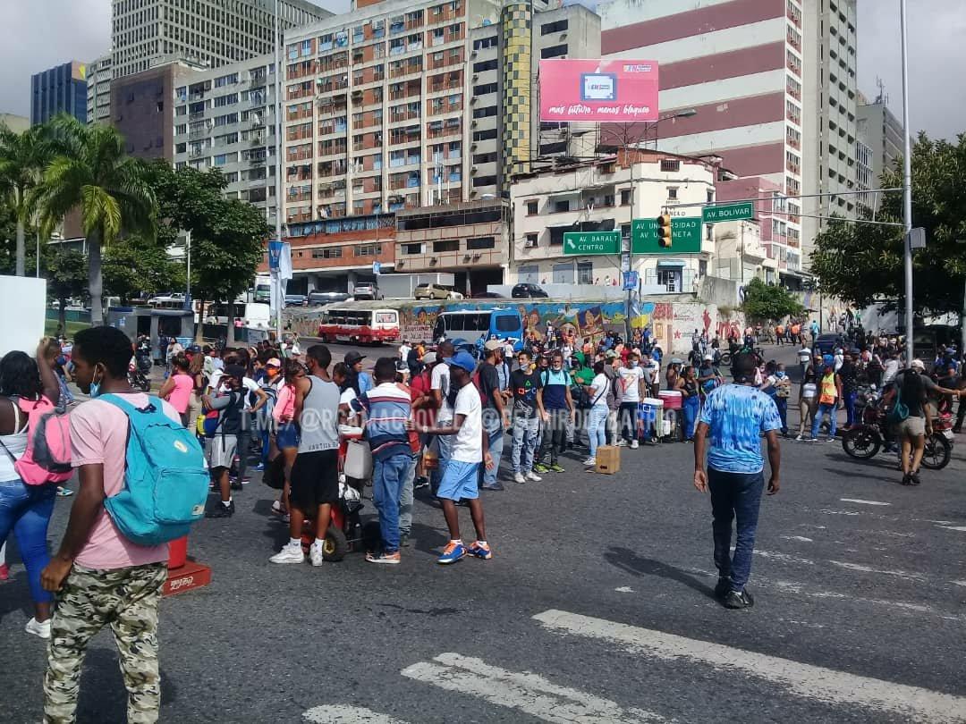 Protesta de buhoneros en caracas – protestas de buhoneros en caracas