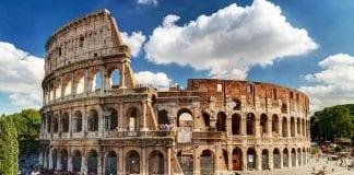 Coliseo romano en Lego
