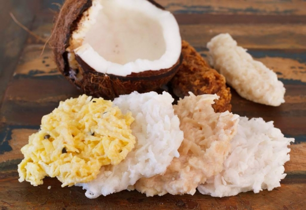 conservas de coco receta