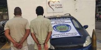 Detenidos con munición de guerra - Detenidos con munición de guerra