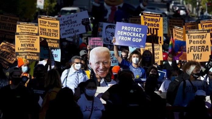 Washington Nueva York victoria de Biden - Washington Nueva York victoria de Biden