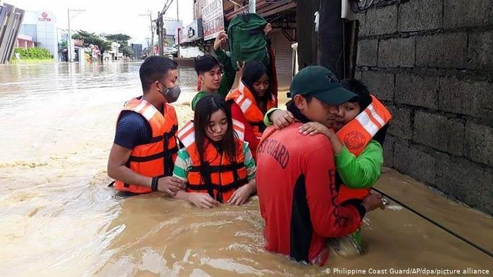 Tifón Vamco Filipinas