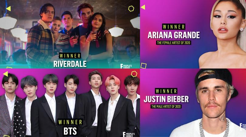 People's Choice Awards 2020, conoce a los principales ganadores