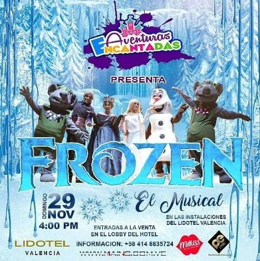 """Frozen """"El Musical"""" en Valencia"""