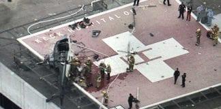estrelló helicóptero hospital en california - estrelló helicóptero hospital en california
