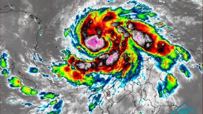 Iota huracán categoría 5