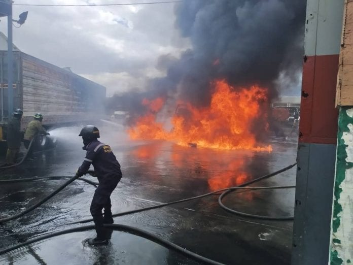 incendio antigua sede INTT