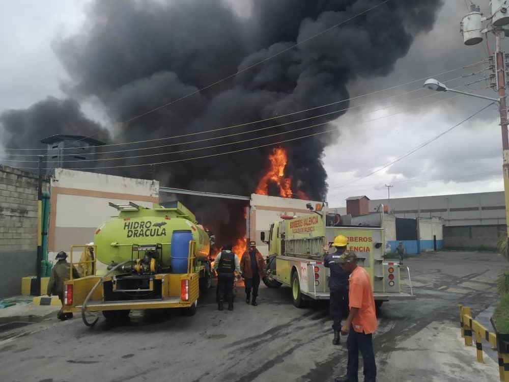 incendio estructura carabobo
