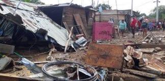desbordamiento de quebrada en Cúcuta