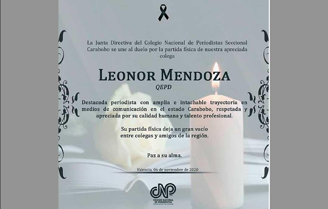 Leonor Mendoza - Leonor Mendoza