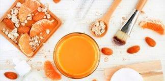 mascarilla de mandarina - mascarilla de mandarina