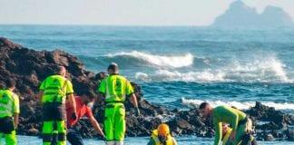 Ocho migrantes fallecieron en naufragio - Ocho migrantes fallecieron en naufragio