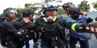 Protesta de estudiantes en Tailandia - Protesta de estudiantes en Tailandia