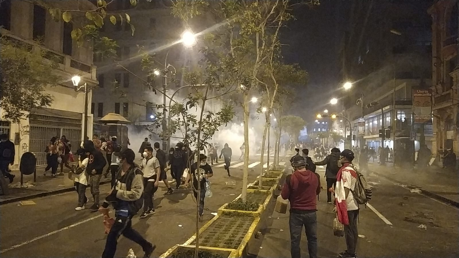 Protestas en Perú dejan dos muertos