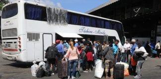 Terminales de pasajeros reanudan operaciones