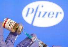 vacunas de Pfizer contra el COVID-19