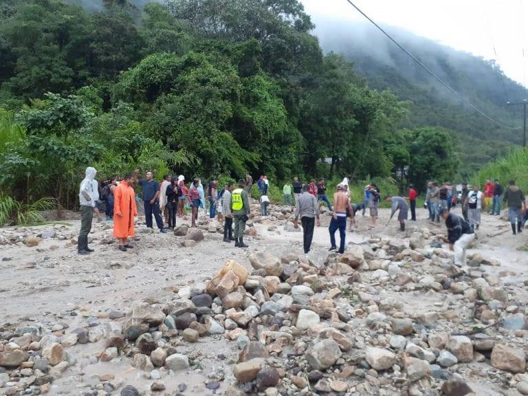 Táchira y Barinas incomunicados con el centro del país