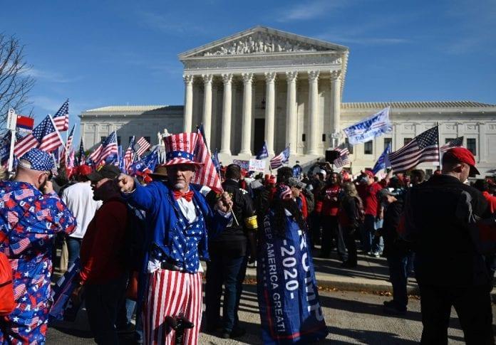 manifestación Washington DC