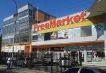 Centro Comercial Free Market quedó fiscalizado