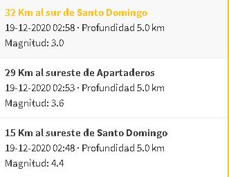 Sismo en Mérida