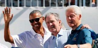 Clinton Bush y Obama vacunarse contra Covid-19 - Clinton Bush y Obama vacunarse contra Covid-19