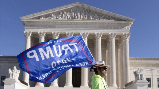 Corte Suprema rechaza demanda de Texas