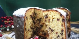panettone con chips de chocolate - panettone con chips de chocolate
