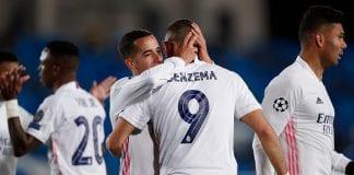 doblete de Karim Benzema