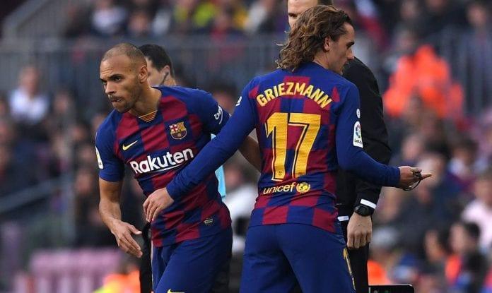 Antoine Griezmann marcó un golazo de tacón