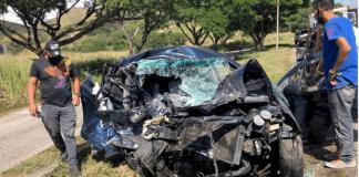 Accidente vial en Variante San Diego Naguanagua