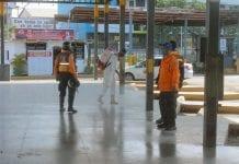Big Low Center de Valencia desinfectaron - Big Low Center de Valencia desinfectaron
