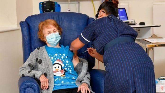 Mujer de 90 años
