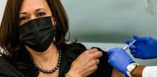 Kamala Harris recibió dosis de vacuna anti-covid-19 - Kamala Harris recibió dosis de vacuna anti-covid-19