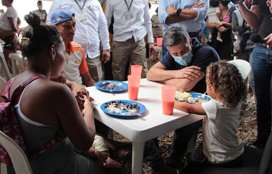 Leopoldo López visita frontera en Cúcuta