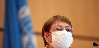 Comisionada Michelle Bachelet - Comisionada Michelle Bachelet