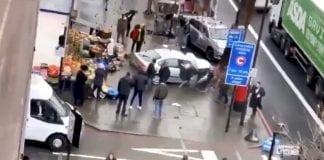 cinco personas heridas por carro en Londres - cinco personas heridas por carro en Londres