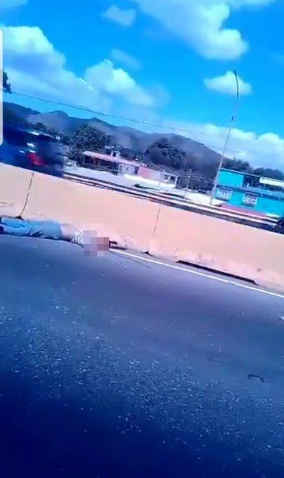 accidente cerca del puente El Boquete