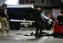 nueve hombres detenidos en Brasil - nueve hombres detenidos en Brasil