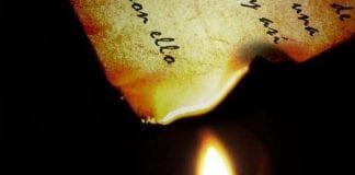 Ritual del papel con fuego - Ritual del papel con fuego