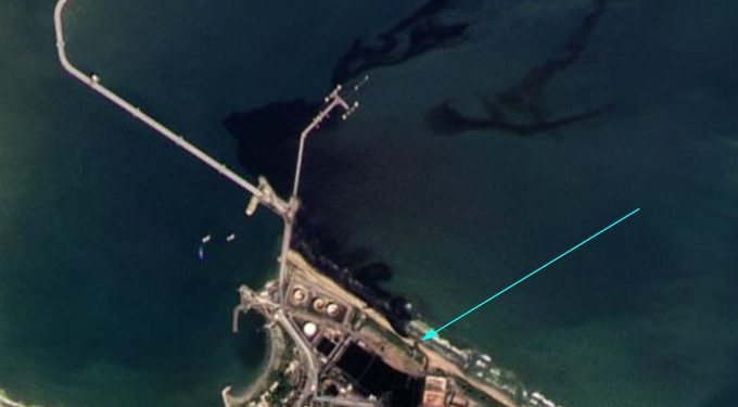 Denuncian nuevo derrame de petróleo desde la refinería de El Palito