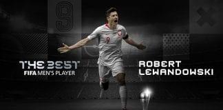 Robert Lewandowski se llevó el premio The Best