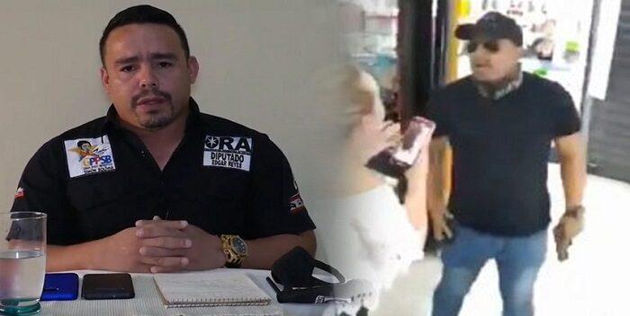Detienen a diputado Edgar Reyes por delitos de violencia y porte ilícito de arma
