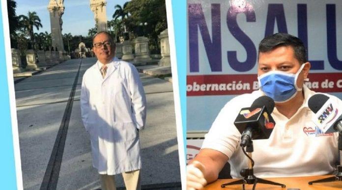 doctor Alexis Riera y Juan Carlos Yánez - doctor Alexis Riera y Juan Carlos Yánez