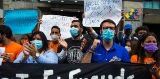 Leopoldo López concentración en Madrid - Leopoldo López concentración en Madrid