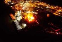 Explosión de planta química en EEUU - Explosión de planta química en EEUU