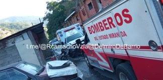 Accidente en la Autopista Gran Mariscal de Ayacucho - Accidente en la Autopista Gran Mariscal de Ayacucho